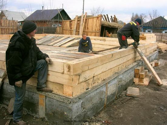 Расчет бруса на дом - калькулятор строительства небольшого брусового дома 5