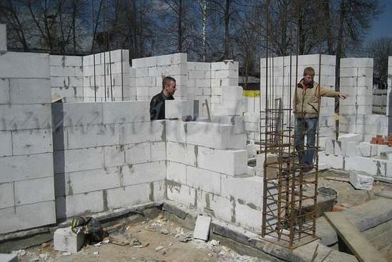 Стандартные размеры пеноблоков для строительства дома 5