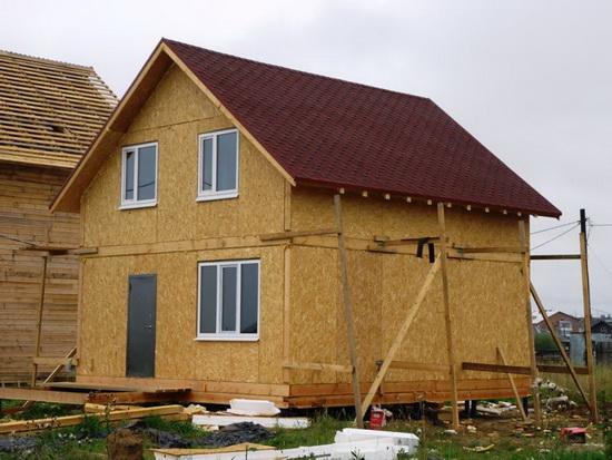 Стандартные размеры СИП панелей для частного строительства 4