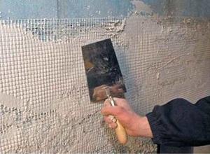 Оштукатуривание стен из газобетона - фасадные отделочные работы 1
