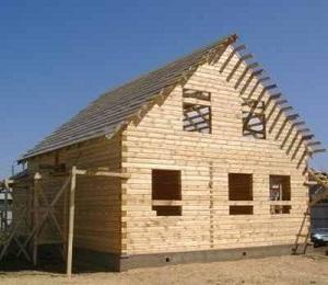 Срубы домов из бруса - недорого строим деревянный загородный дом 1