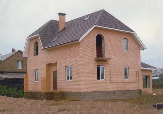 Стоимость кладки кирпича за куб - с материалами и без на строительстве дома 2