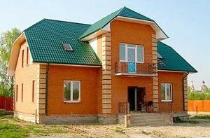 Стоимость кладки кирпича за куб - с материалами и без на строительстве дома 1