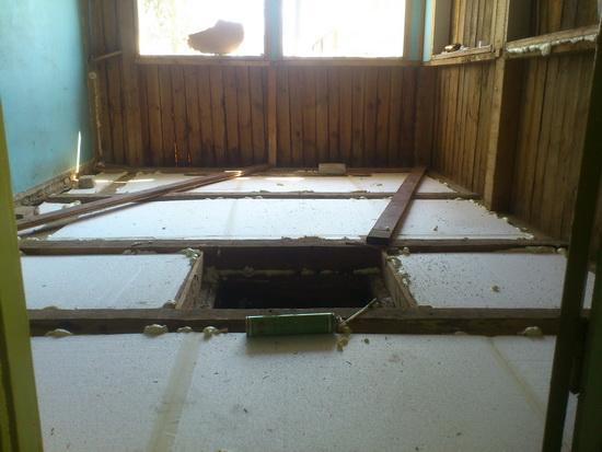 Каркасная пристройка к деревянному дому - утепление веранды при деревянном доме 4