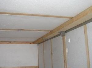 Каркасная пристройка к деревянному дому - утепление веранды при деревянном доме 1
