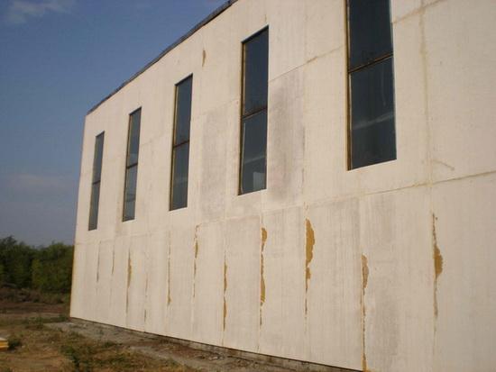 Стекломагниевый лист на фасаде 3