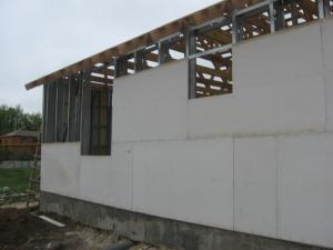 Стекломагниевый лист на фасаде 1