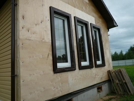 Внешняя отделка каркасного дома – фотографии фасадов 2