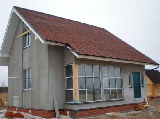 Внешняя отделка каркасного дома – фотографии фасадов 7
