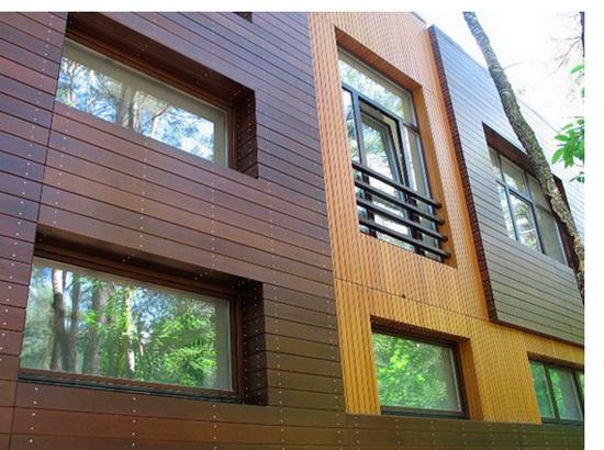 Внешняя отделка каркасного дома – фотографии фасадов 8