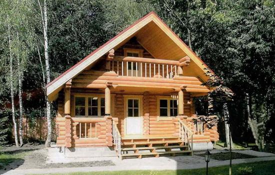 Дом баня из бруса - лучшие проекты и возможные варианты 2