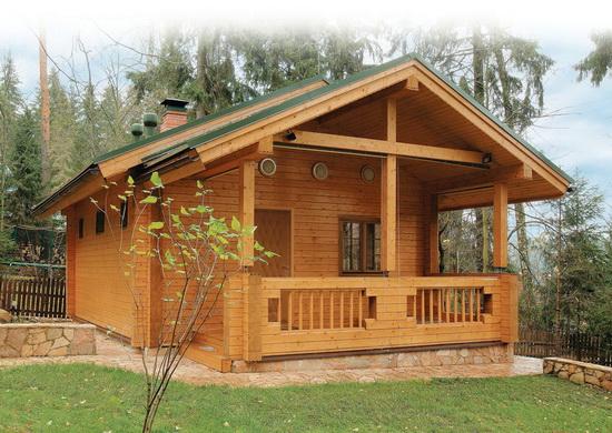 Дом баня из бруса - лучшие проекты и возможные варианты 3