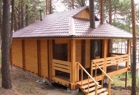 Дом баня из бруса - лучшие проекты и возможные варианты 4