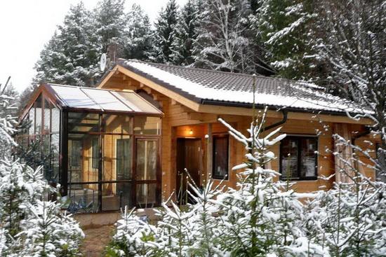 Дом баня из бруса - лучшие проекты и возможные варианты 5