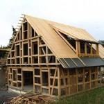 Каркасный дом – схемы и чертежи узлов