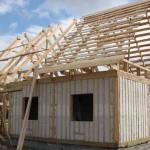 Конструкция каркасного дома – схемы узлов