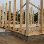 Конструкция стен каркасного дома – схема пирога