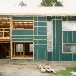 Каркасная стена в разрезе – схема и комментарии