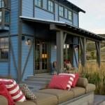 Крыльцо для частного дома из поликарбоната — фото