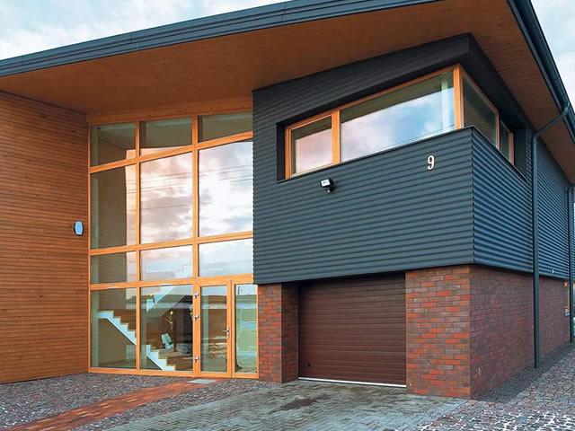 фасад дома фото частных домов из кирпича 11