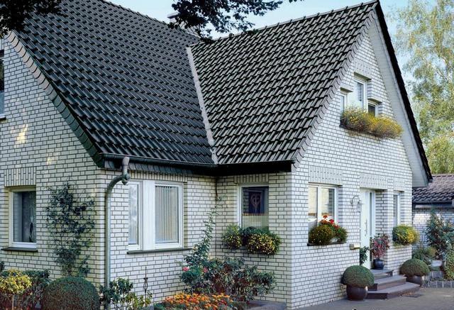 фасад дома фото частных домов из кирпича 15