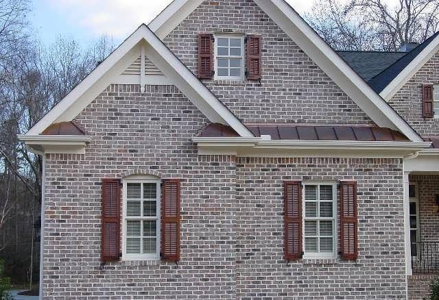 фасад дома фото частных домов из кирпича 8