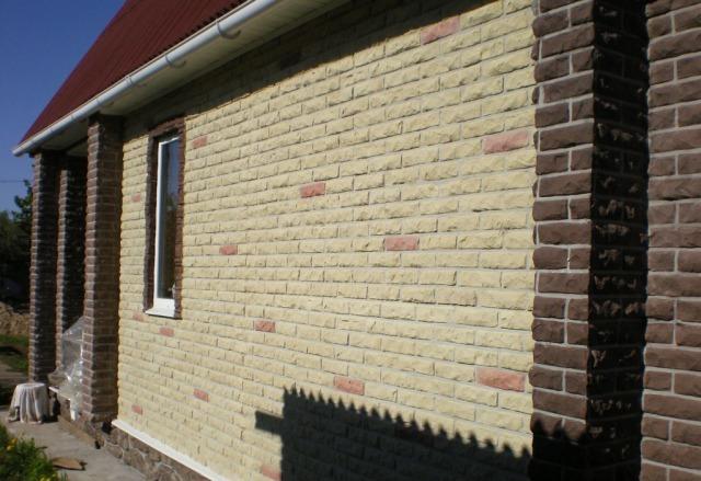 отделка фасада дома панелями под камень фото 5