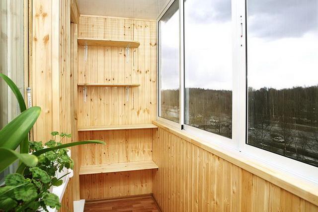 Как лучше обшить балкон вагонкой своими руками - видео 4