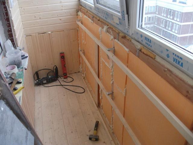 Утепление балкона своими руками - пошаговая инструкция и видео 4