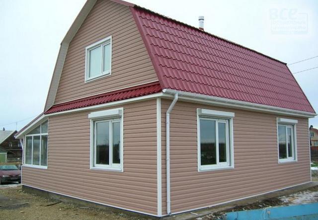 Цветовая гамма сайдинга - образцы обшитых домов в разных цветах 15