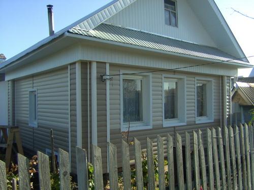 Обшивка старого дома блок хаусом