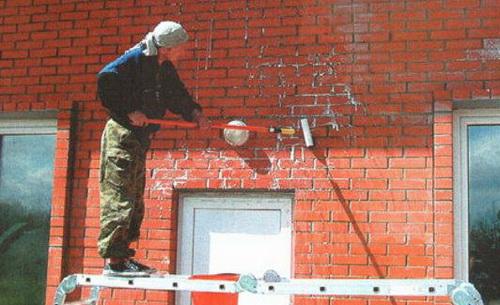 Гидроизоляция фасада кирпич