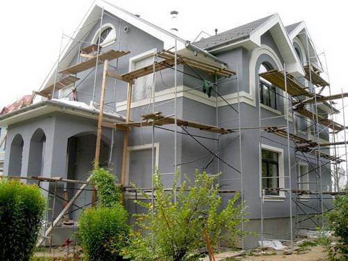 Отремонтировать фасад дома своими руками