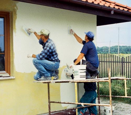 Отделать фасад своими руками