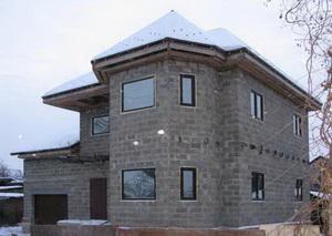 дома из керамзитобетонных блоков фото отзывы