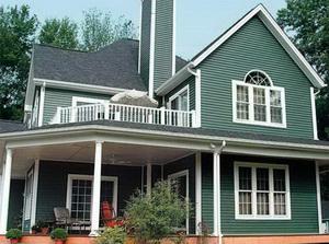 Как сделать фасад дома А