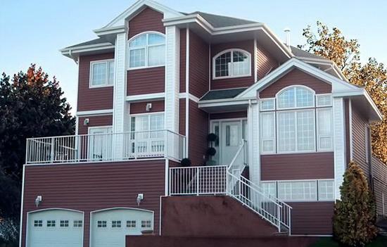Как сделать фасад дома сайдинг