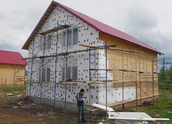 Мокрый фасад 6