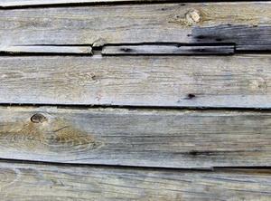 Отделка фасада деревянного дома А