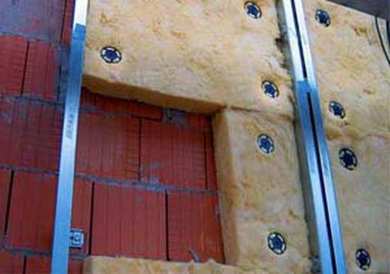 Утепление и отделка кирпичного дома утеплитель 1