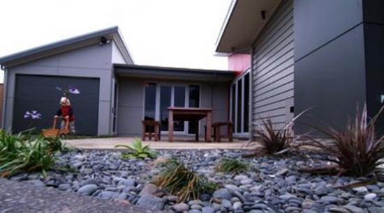 Дизайн фасада частного дома 2