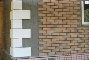Облицовка плиткой фасада А