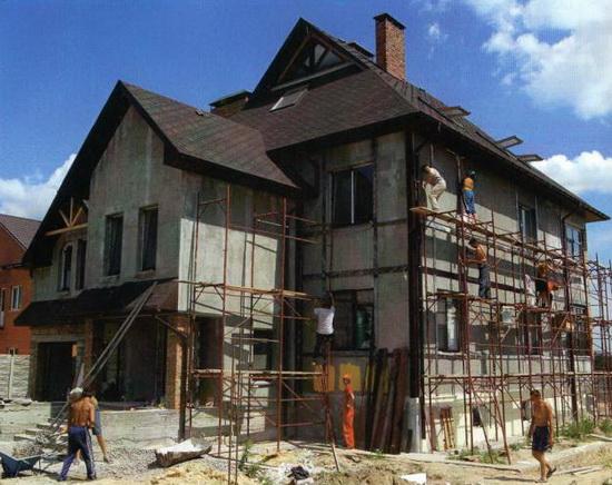 Ремонт фасада частного дома 7