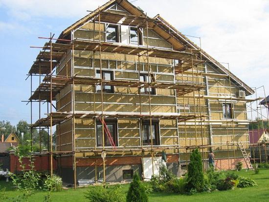 Ремонт фасада частного дома 8