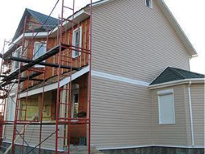 Ремонт фасада частного дома А