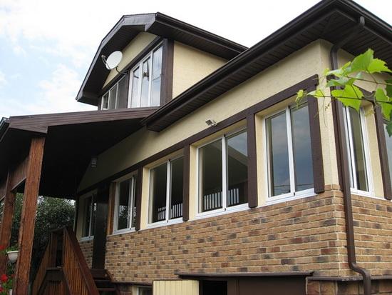 Утепление брусового дома снаружи пенопластом 6