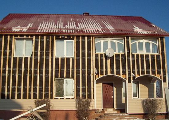 Утепление дома из бруса снаружи 6