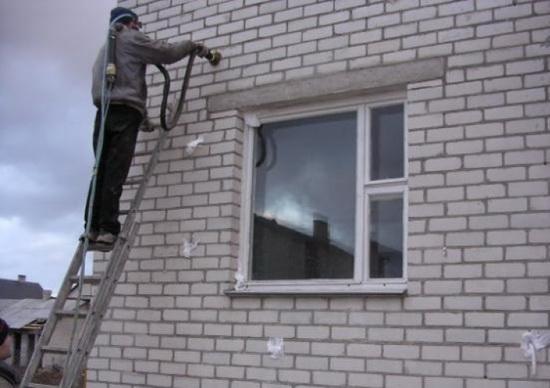 Утепление домов пеноизолом 4