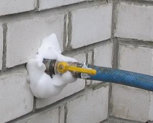 Утепление домов пеноизолом А