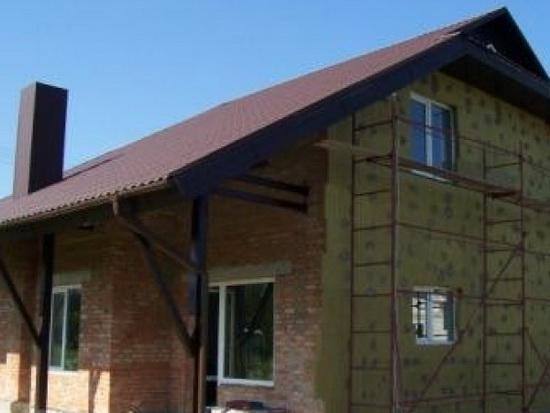 Материал из пенопласта для отделки фасадов